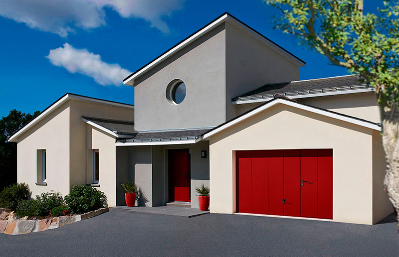Porte de garage basculante conception et installation for Garage des fontaines