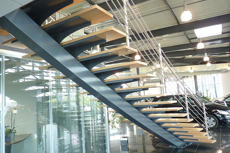 escaliers m talliques conception et installation rennes nantes ateliers fontaine. Black Bedroom Furniture Sets. Home Design Ideas