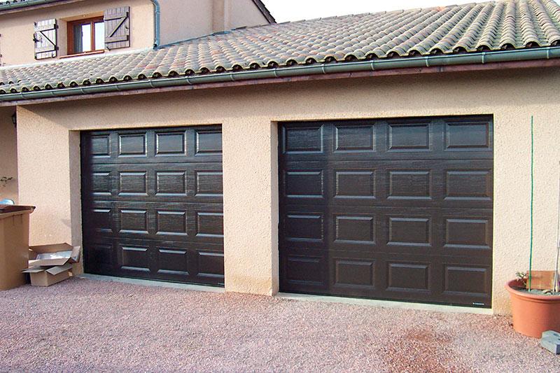 Porte de garage sectionnelle conception et installation for Garage des fontaines